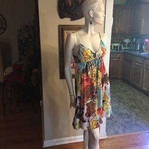 Diane Von Furstenberg Dresses - Diane von Furstenberg Silk On Silk Sun Dress